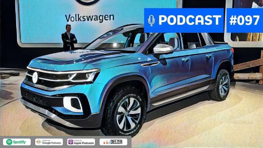 Motor1.com Podcast #97: Picape Tarok e demais planos da VW do Brasil para 2021