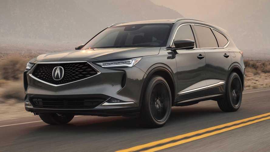 Acura MDX четвертого поколения (2020)