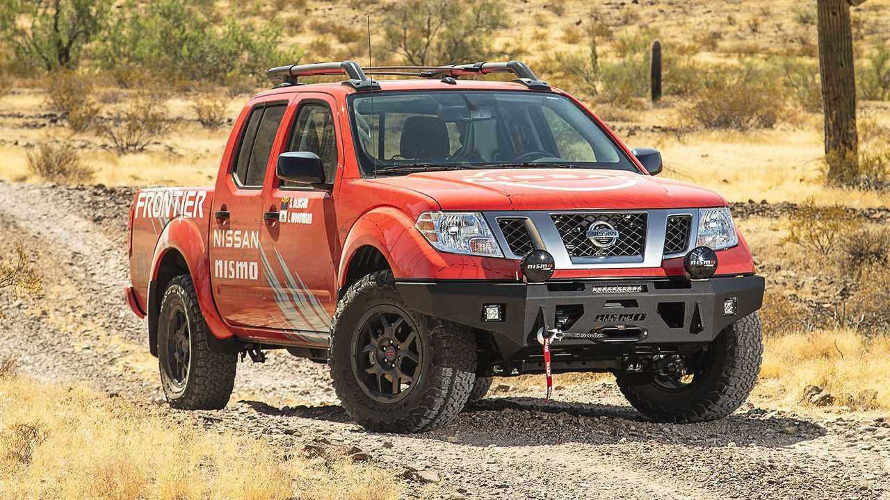 Nissan Frontier Nismo Rebelle Rally