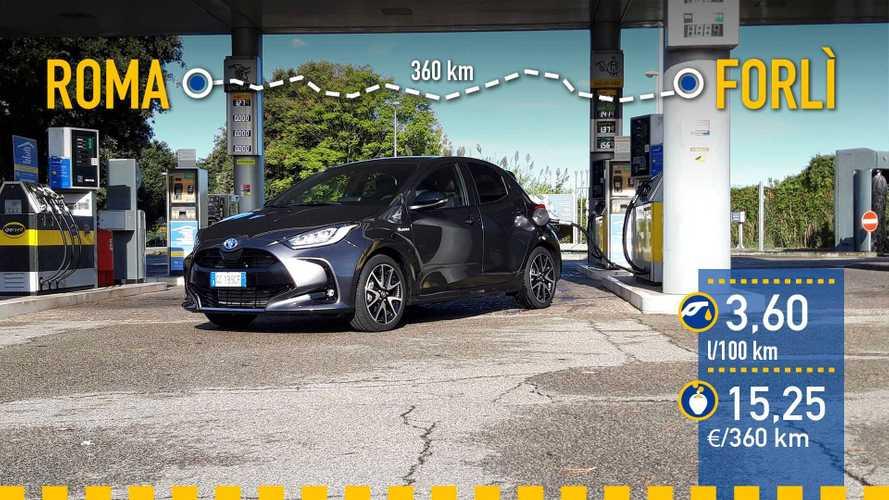 Toyota Yaris Hybrid 2020: prueba de consumo real