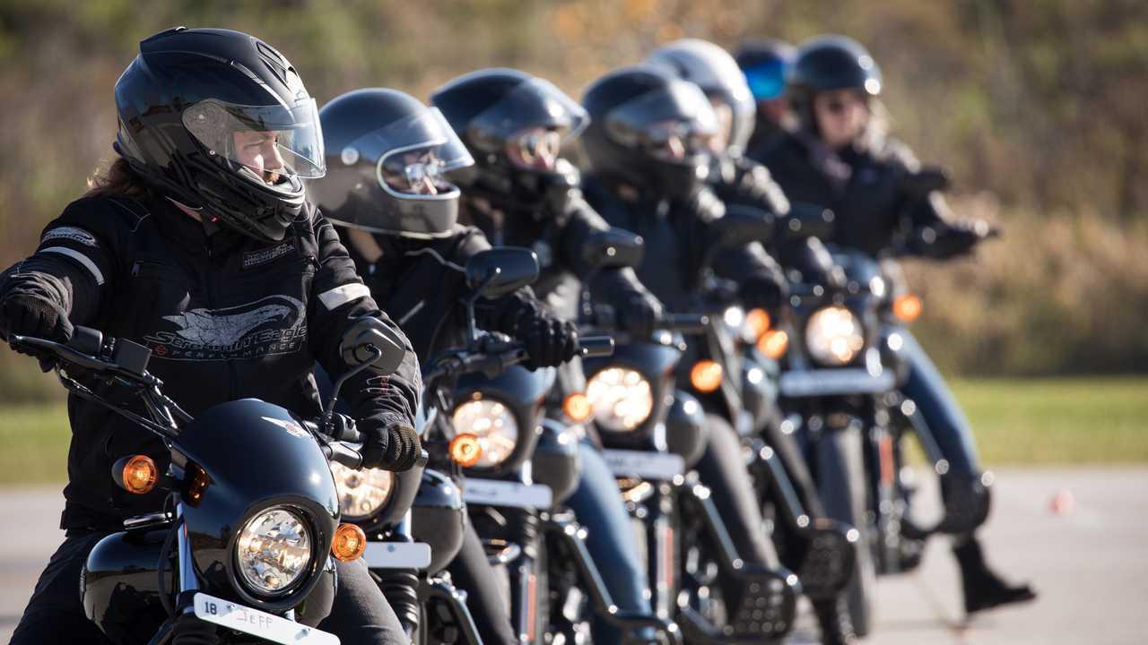 Harley-Davidson Riding Academy - Lineup
