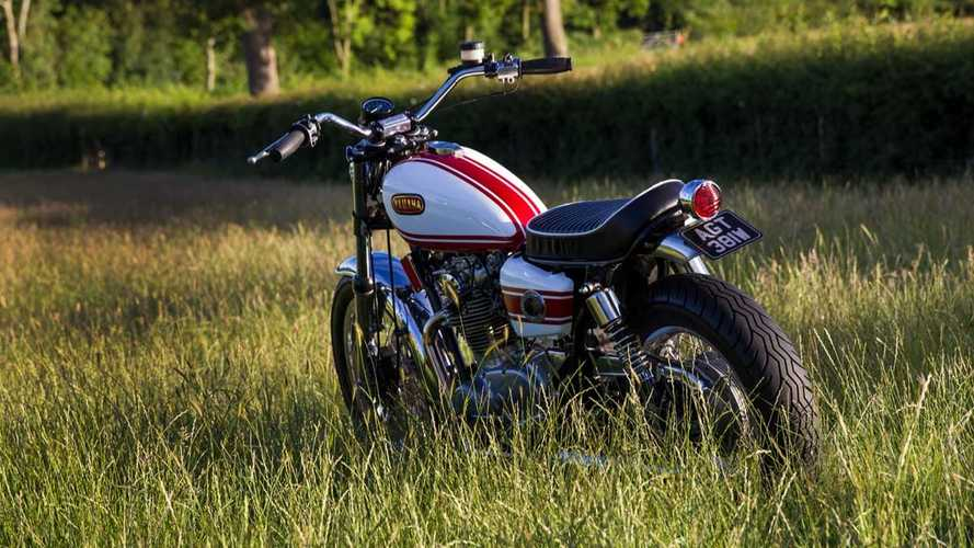 This custom Yamaha XS650 is a British inspired classic