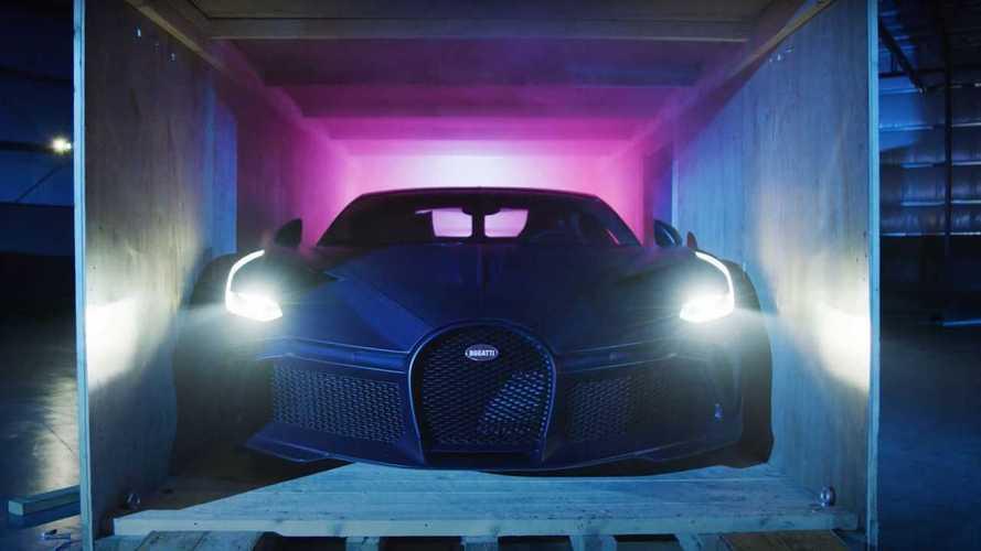 Incroyable vidéo de l'unboxing d'une... Bugatti Divo !