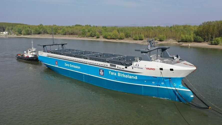 Non è fantascienza: la nave elettrica di Fincantieri si pilota da sola