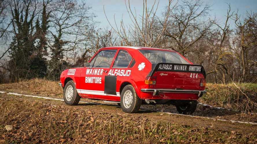 Alfasud TI Bimotor 4×4 Wainer, l'integrale Alfa Romeo