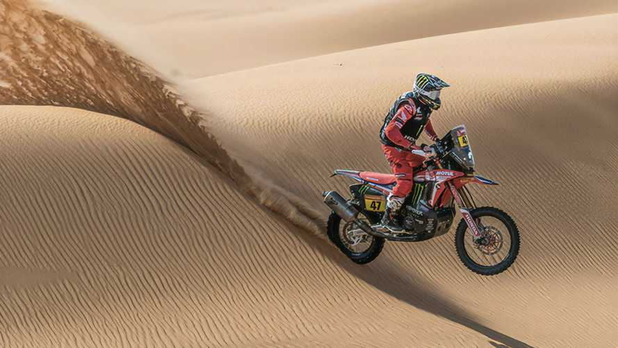 Benavides And Brabec Take Top Two Dakar 2021 Spots On Honda