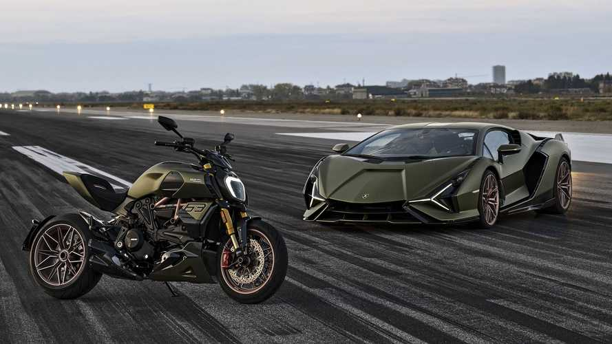 The Ducati Diavel 1260 Lamborghini is the ultimate Italian delight