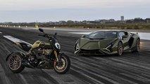 Ducati Diavel 1260 Lamborghini: Inspiration vom Sián FKP 37