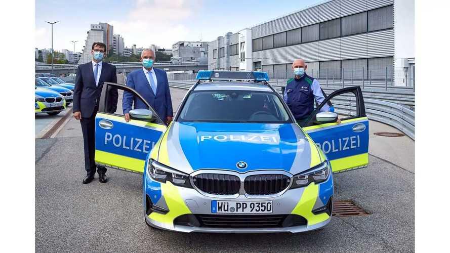 Neue BMW 3er Touring Einsatzfahrzeuge für die Polizei Bayern