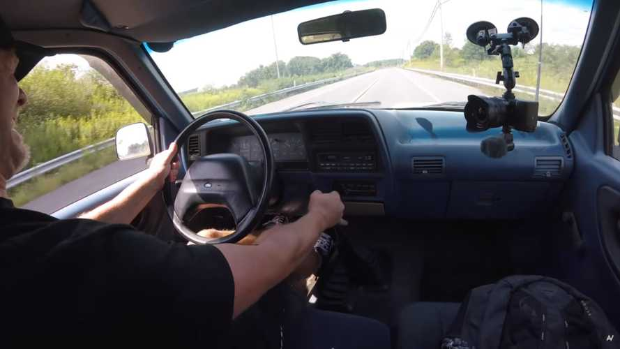 1994 Ford Ranger With Manual Gearbox Jammed Into First Gear While Driving