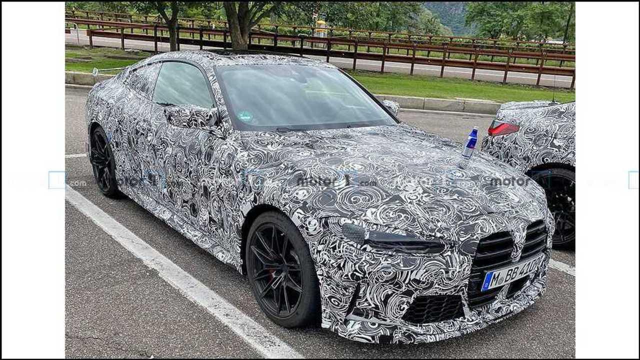 BMW M4 GTS Spy Shots