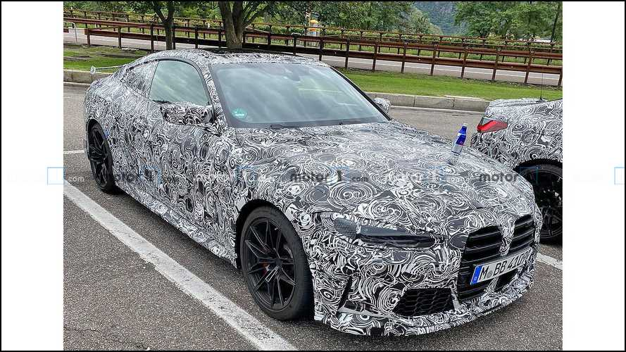 BMW M4 GTS Spy Shots