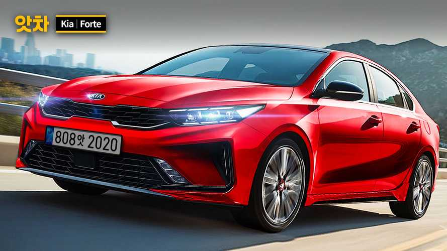 Fan Rendering Proposes Kia Forte Facelift With Some K5 Design Cues