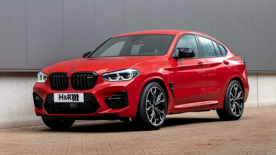 H&R-Sportfedern für den neuen BMW X4 M