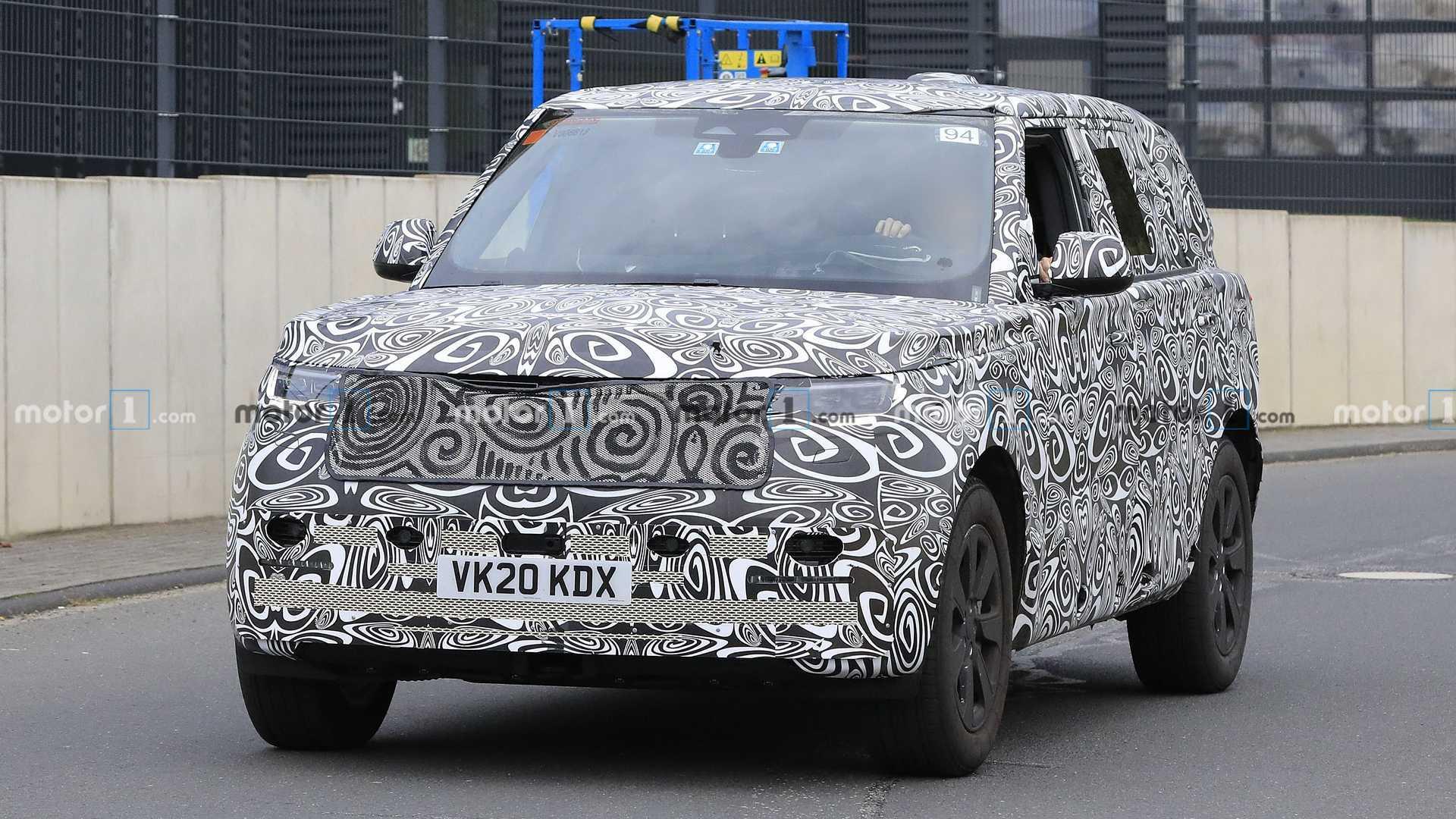 Land Rover Range Rover LWB Fotos espía Orr