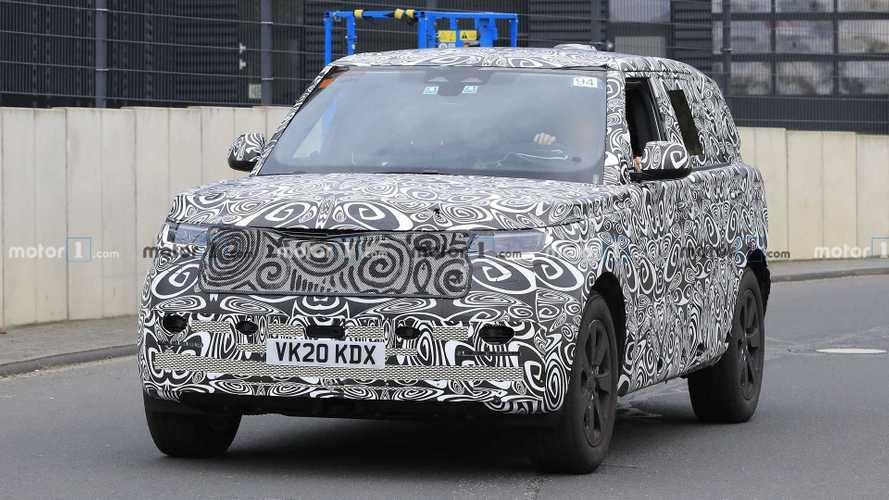 Yeni nesil Land Rover Range Rover kameralara yakalandı