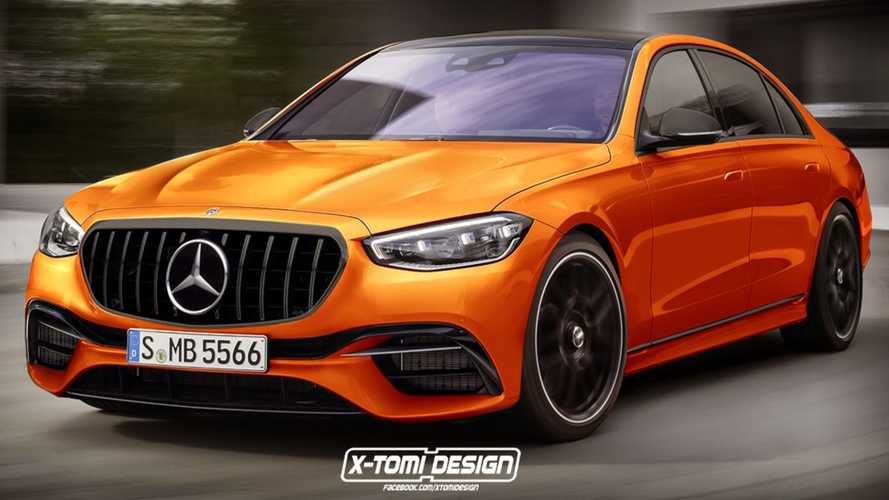 2022 Mercedes-AMG S63 Rendered, Expected To Have Nearly 700 Horsepower