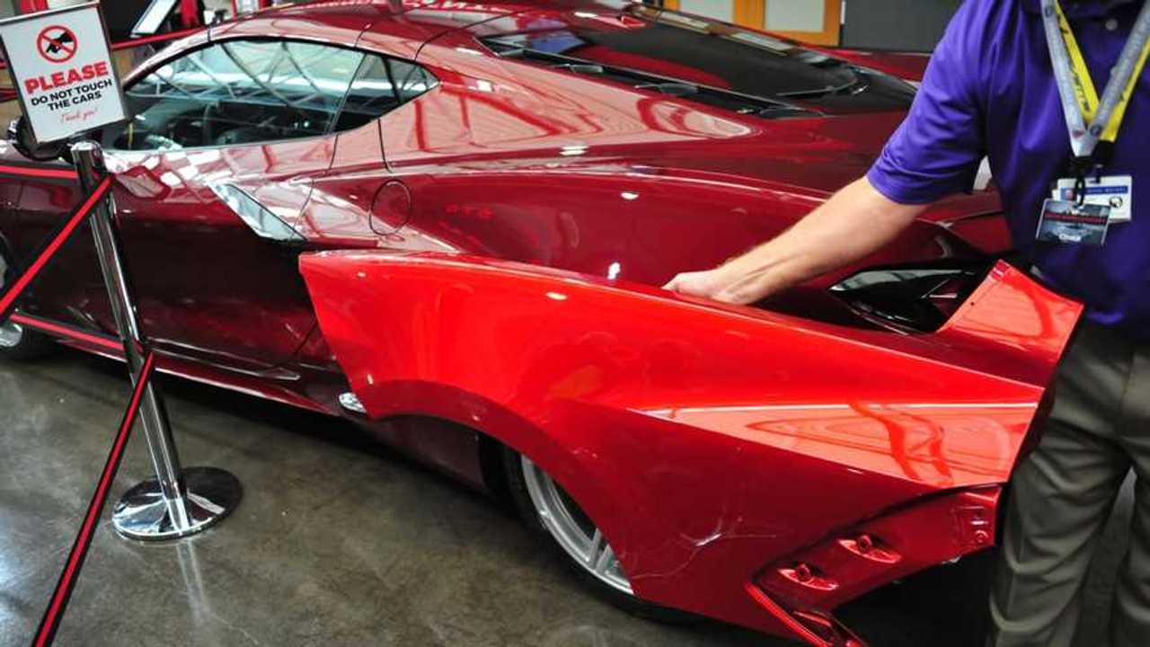C8 Corvette Red Mist