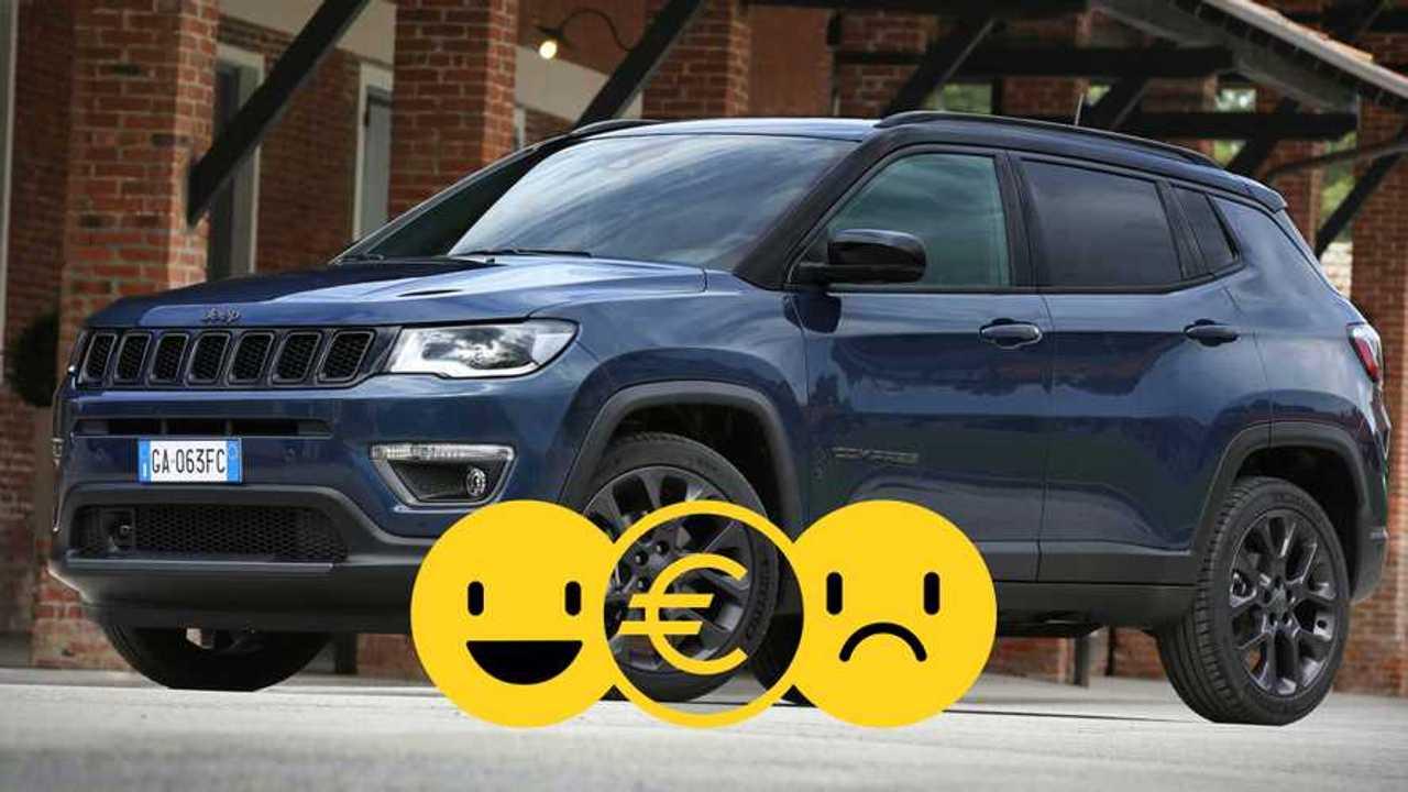 copertina Promozione Jeep Compass a noleggio