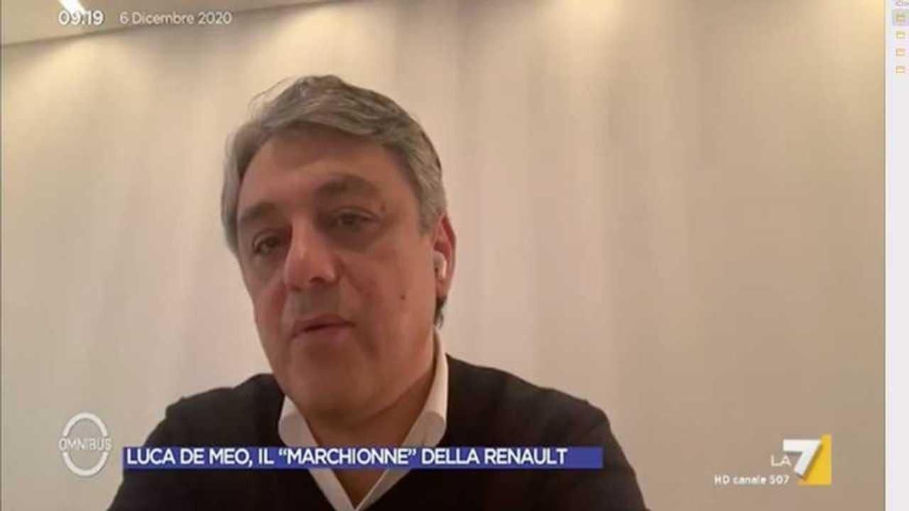 Luca De Meo intervista a Omnibus