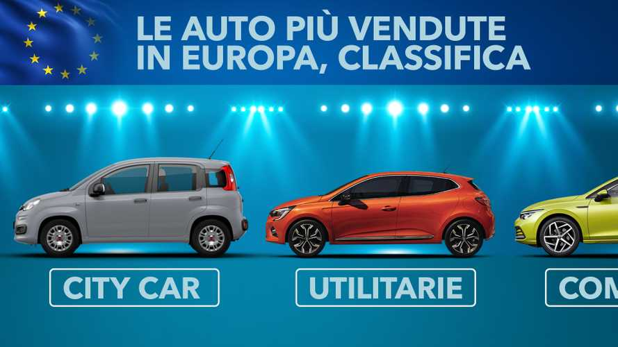 Le auto più vendute in Europa, classifica