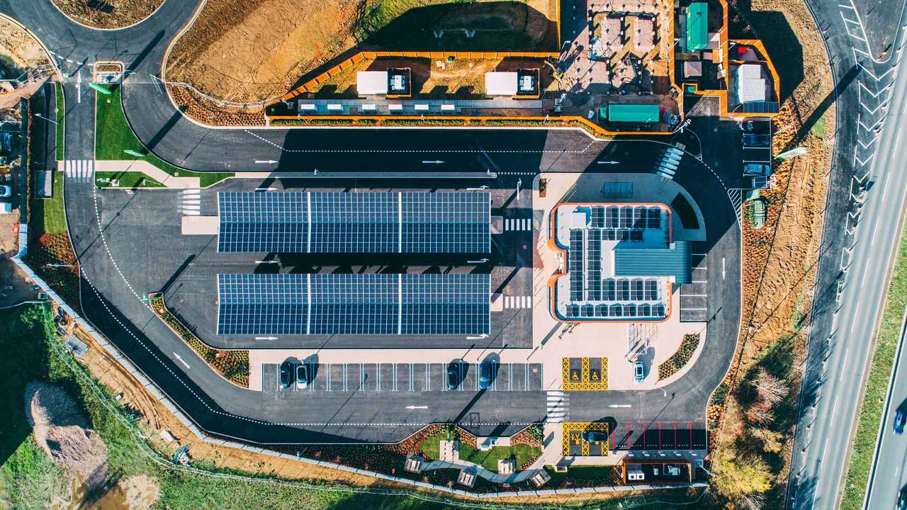 Gridserve's first Electric Forecourt in the UK