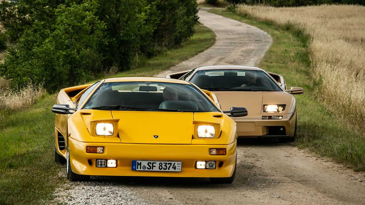 Lamborghini Diablo feiert 30-jähriges Jubiläum