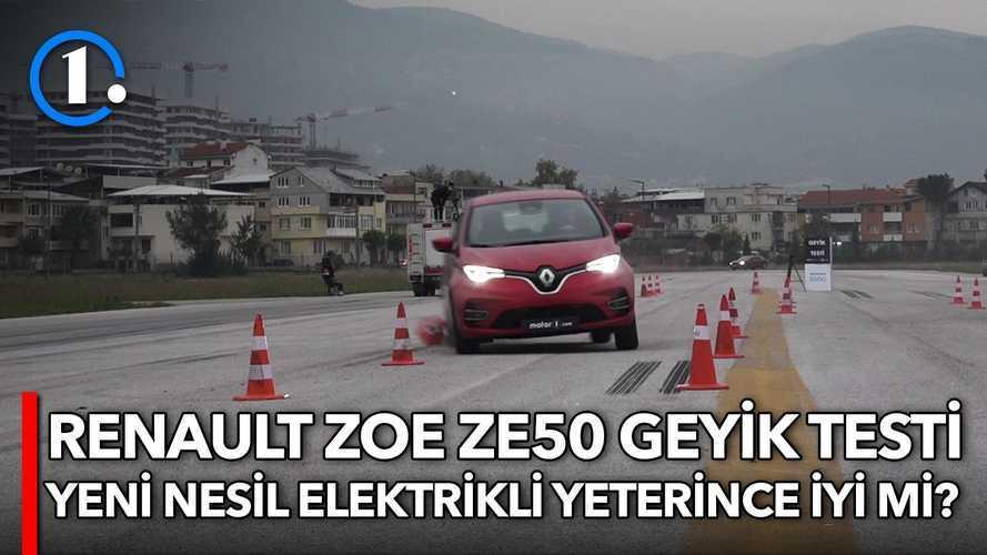 2020 Renault ZOE ZE50 | Geyik Testi