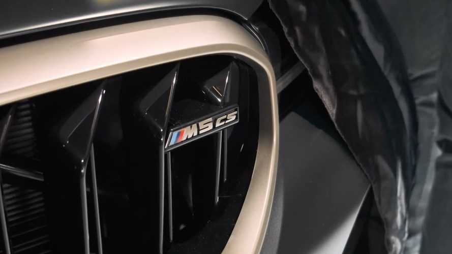 BMW M5 CS teased for first time, promises 626 bhp