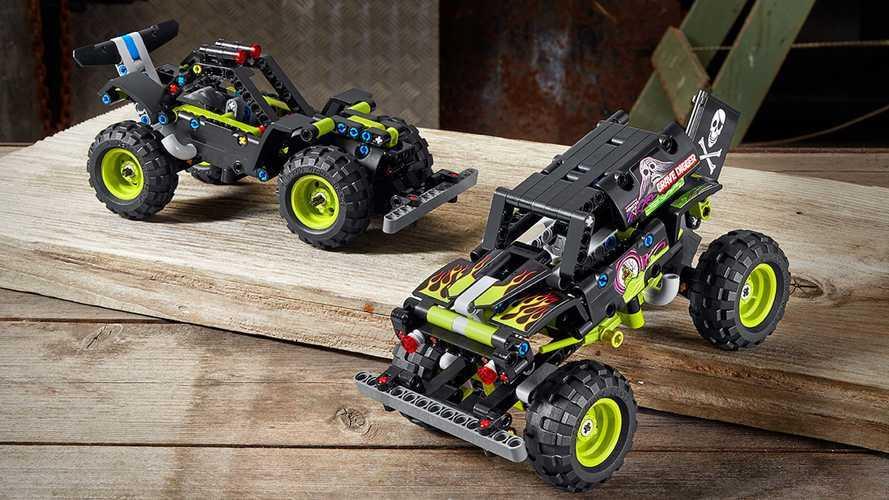 Grave Digger ve Max-D isimli Monster Truck modelleri Lego oldu!