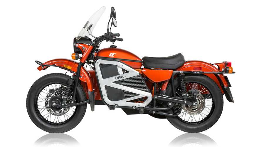 Ural Charges Into History With All-Electric Sidecar Rig