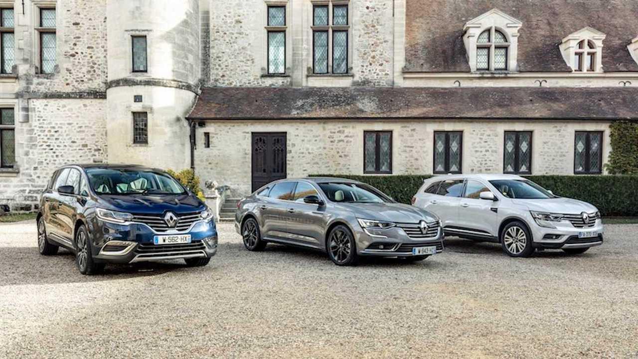 Renault Talisman, Espace y Koleos 2019