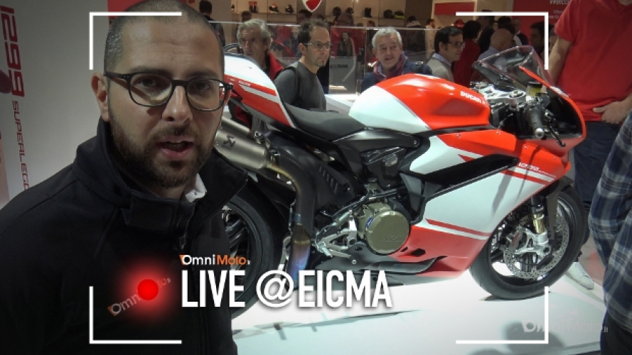 Ducati 1299 Superleggera a EICMA 2016 [VIDEO]