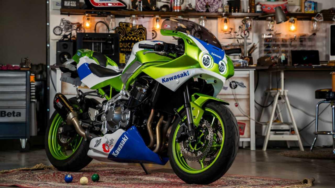 Kawasaki: dalla Z900 alla leggendaria ZXR… In un colpo di kit! [VIDEO]