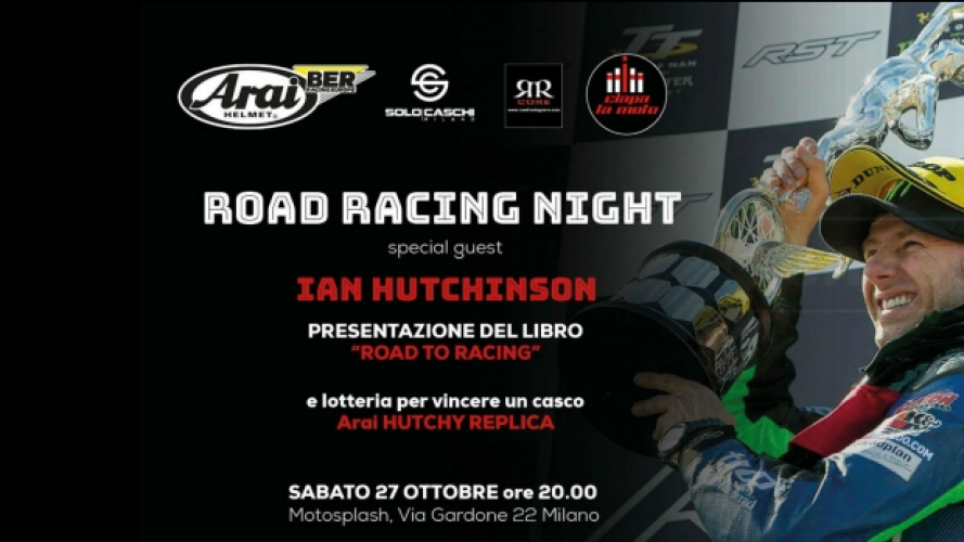 Road Racing Night con Ian Hutchinson