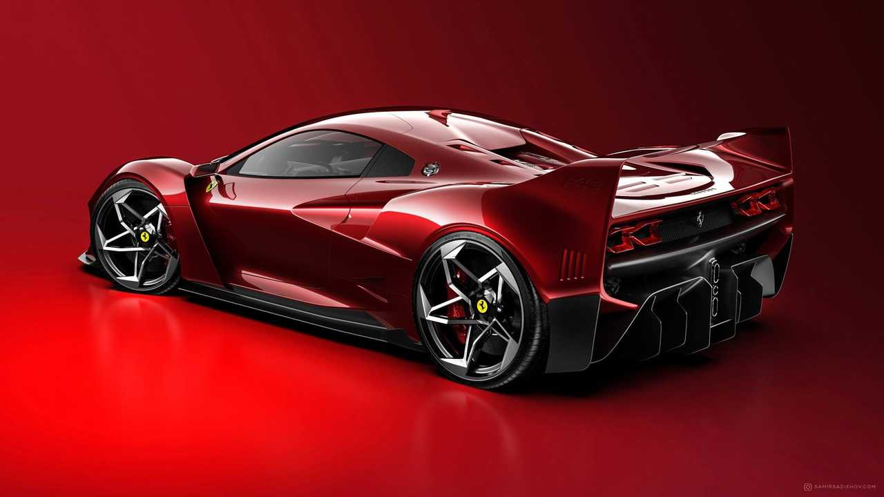 Ferrari F40 Tribute Rendering