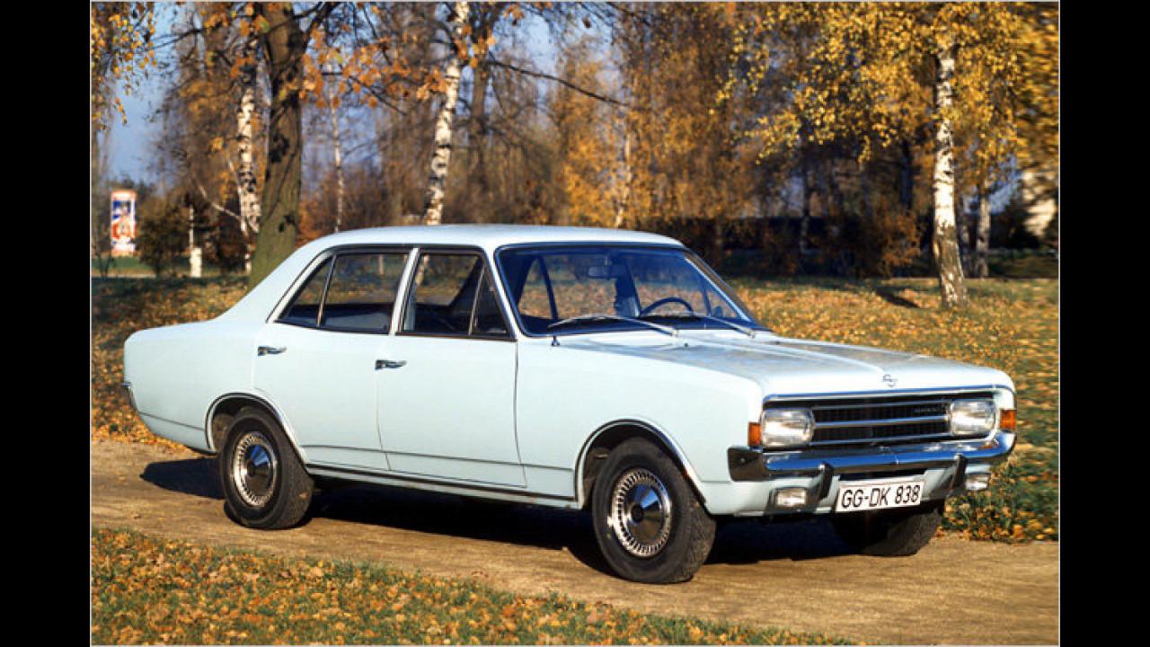 Platz 14: Opel Rekord/Olympia Rekord