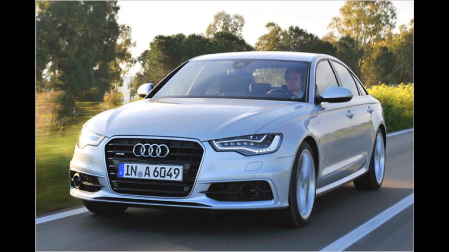 Wozu noch Oberklasse? Der neue Audi A6 im Test