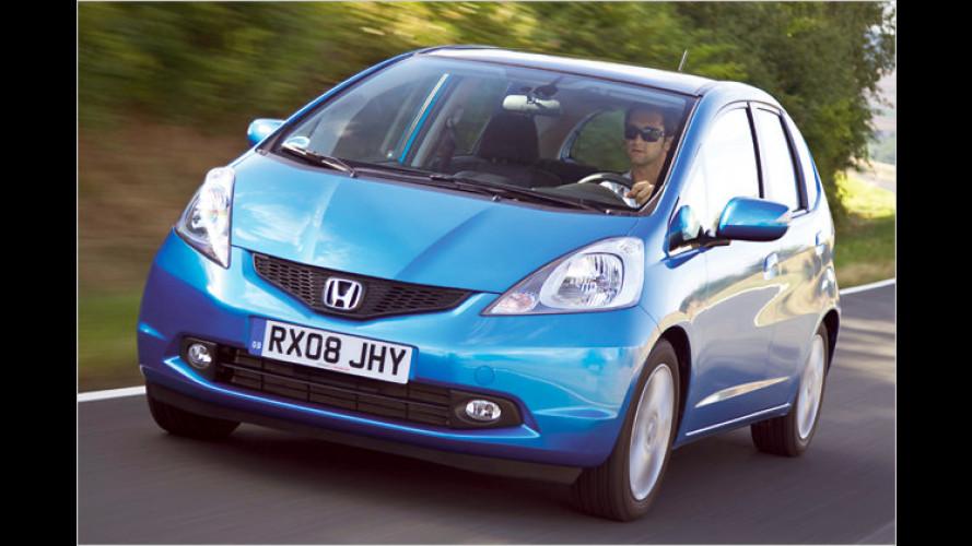Honda Jazz und Civic: Einsteiger werden billiger