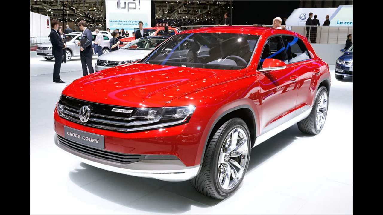 VW Cross Coupé mit Diesel-Plug-in-Hybridantrieb