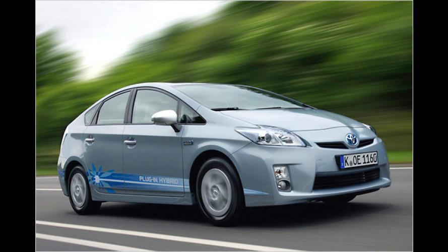 Toyota Prius Plug-in: Testflotte komplett