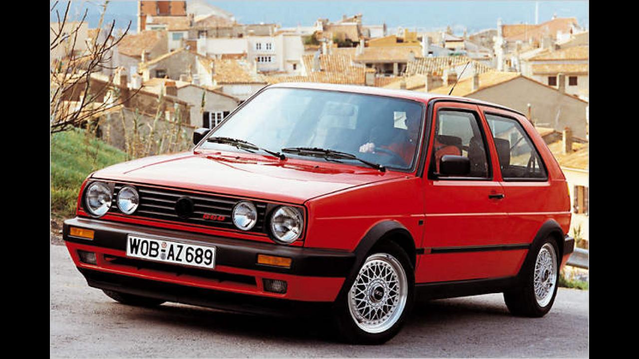 1989: VW Golf II GTI G60