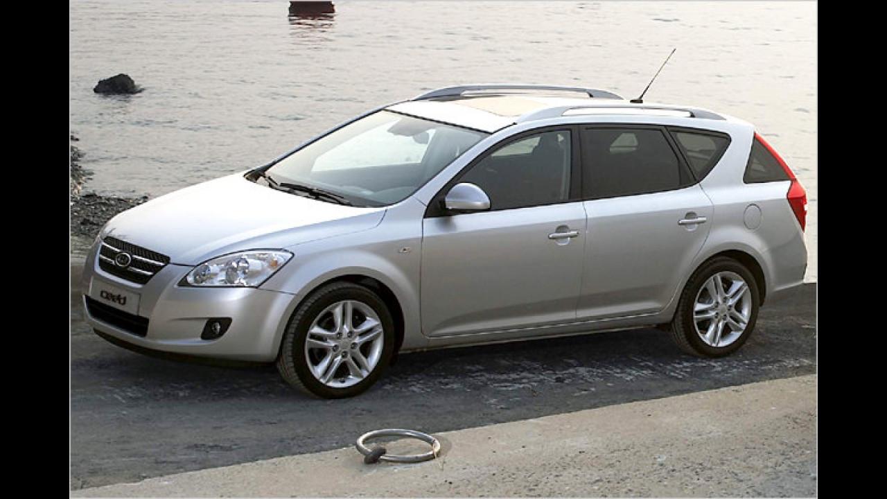 Kia cee'd Sporty Wagon 1.6 CRDi 115 EX DPF