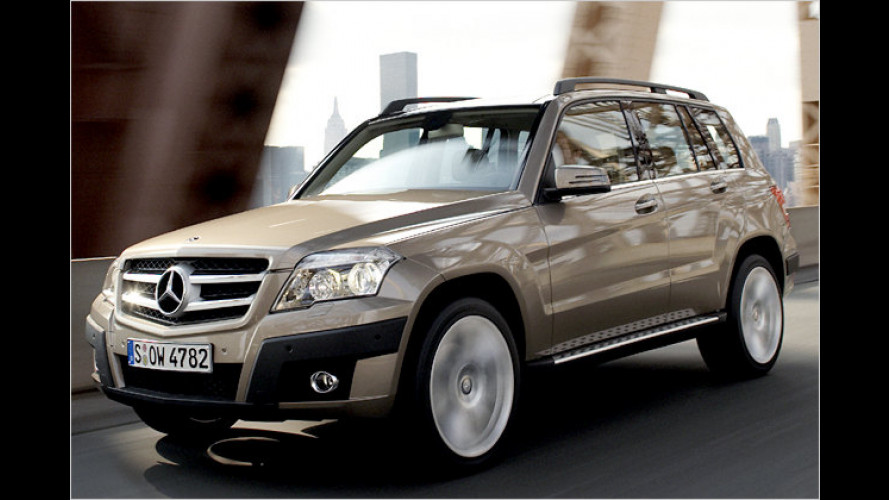 Mercedes GLK: Weltpremiere auf der China Auto Show