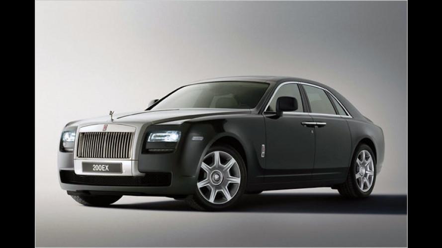 Rolls-Royce: 200EX bekommt einen 6,6-Liter-V12 mit Turbo