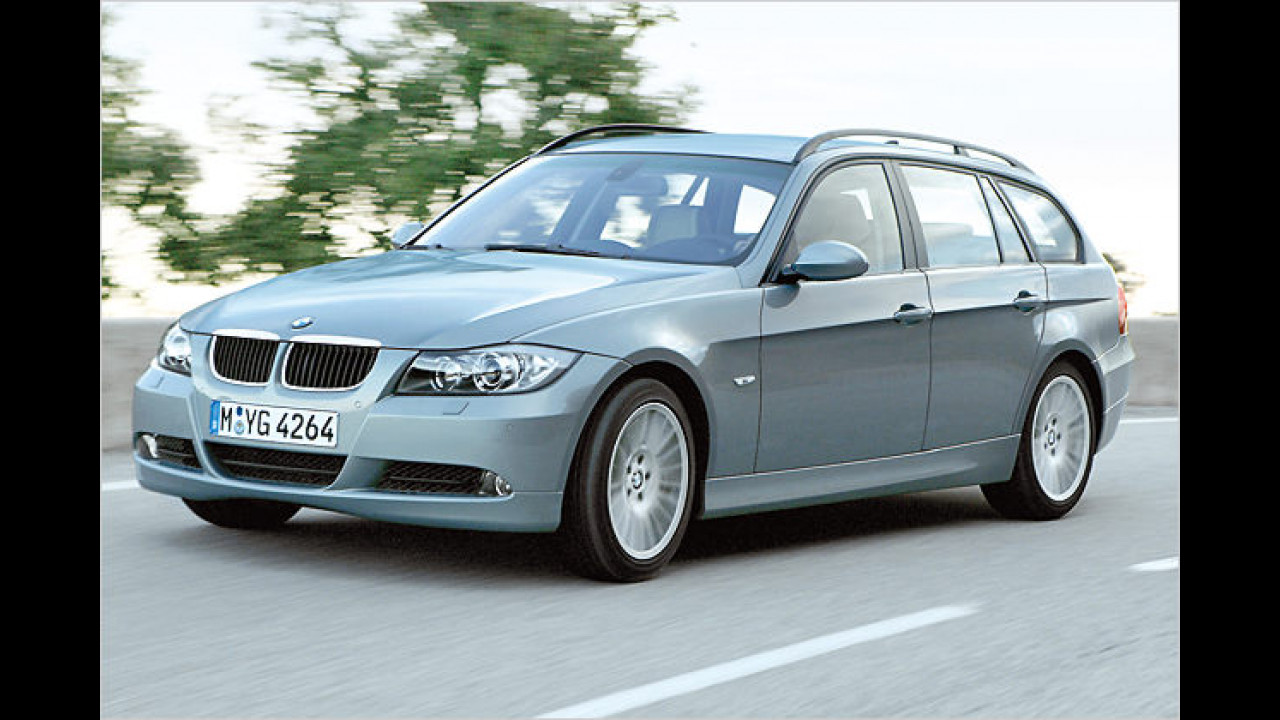 BMW 335d touring DPF Steptronic