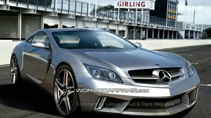 Mercedes SLC AMG confirmed, new 4-liter V8 engine rumored