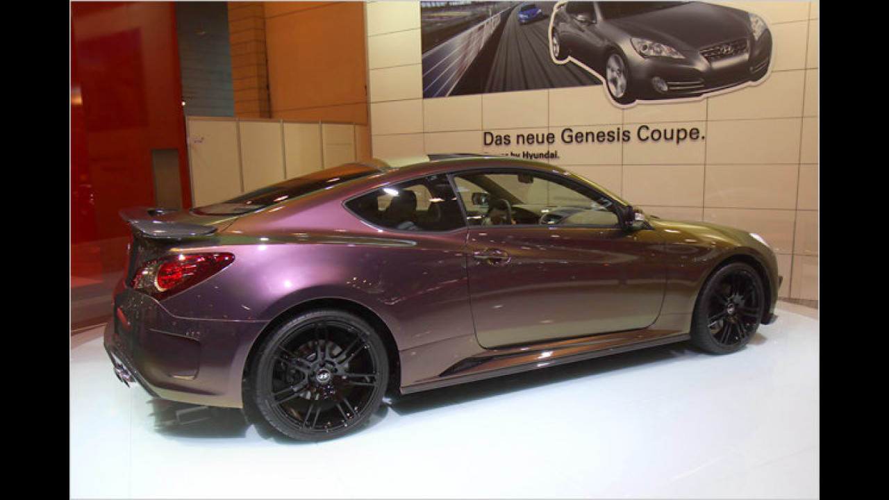 Hyundai Genesis Coupé made by Mansory