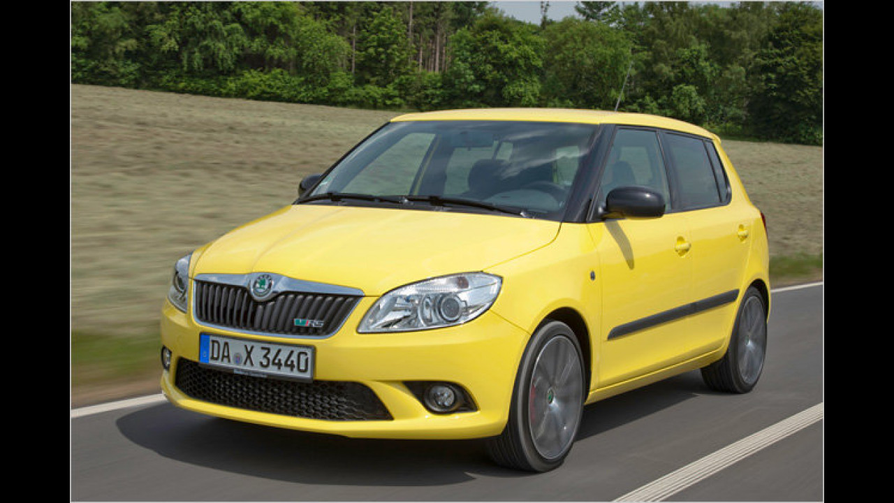Skoda Fabia-Topversion