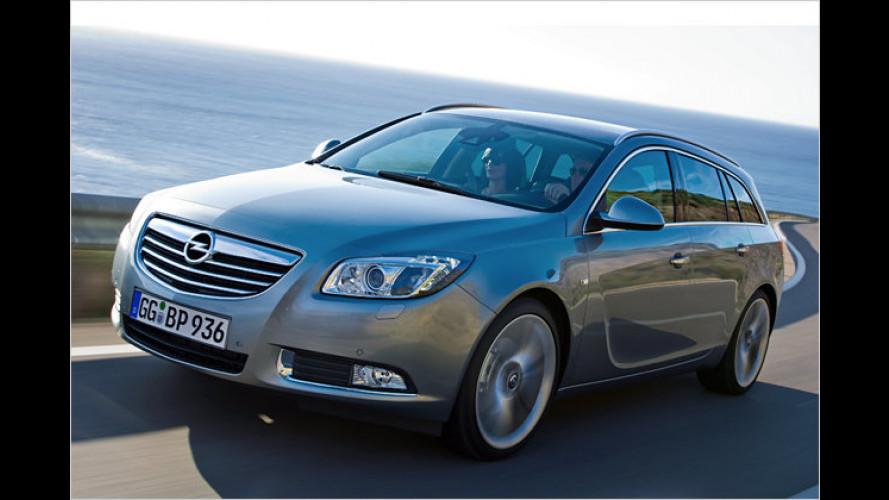 Neuer Opel Insignia ecoFlex Sports Tourer: Groß sparen